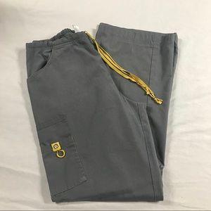 Spread Good Cheer ⚜️ Grey Scrub Pants